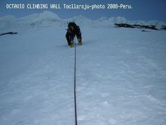 Rock Climbing Photo: climbing cordillera blanca-Peru