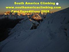 Rock Climbing Photo: Peru summit