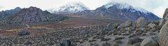 Rock Climbing Photo: Buttermilks Panorama