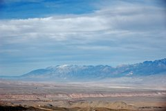 Rock Climbing Photo: The Tablelands from the south, and the White Mount...