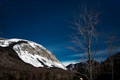 Rock Climbing Photo: a full-moon lit canon.