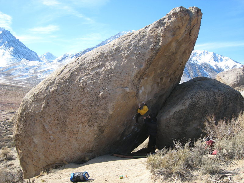 Rock Climbing Photo: The Bowling Pin.
