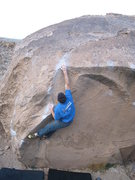 Rock Climbing Photo: The Clapper Boulder offers unusual climbing for th...