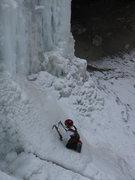 Rock Climbing Photo: Cave Ice