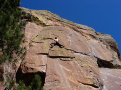 Rock Climbing Photo: Alex Honnold onsighting Fraid Line.