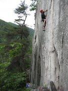 Rock Climbing Photo: Nick climbing castor.
