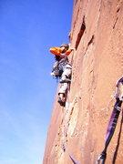 Rock Climbing Photo: Chino Parada on P3