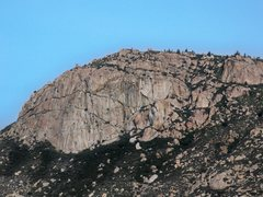 Rock Climbing Photo: Corte Madera from the road.
