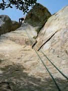 Rock Climbing Photo: Eye of the Hurricane P1 is the crack on the right ...