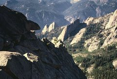 Rock Climbing Photo: The Gorge of Despair, Kings Canyon National Park. ...