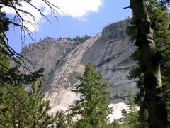 Rock Climbing Photo: Twenty miles up the Merced from Yosemite, past Was...