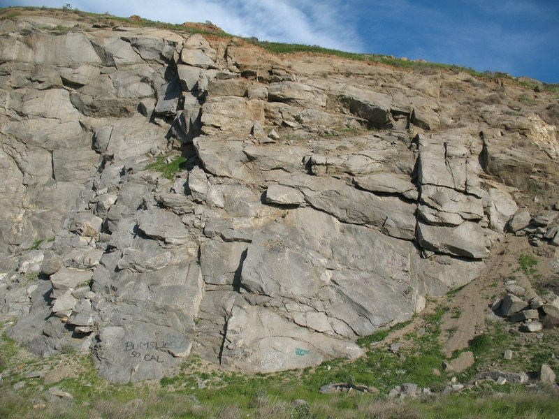 Rock Climbing Photo: Schoolhouse Rock, Riverside Quarry.