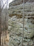 Rock Climbing Photo: Shot of one side of the Gallery with Deep Throat a...