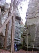 Rock Climbing Photo: Massive Boulder(s) abound.  This is the Battle Axe...