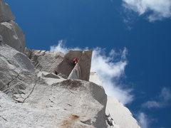 Rock Climbing Photo: McTech Roof (5.10+).