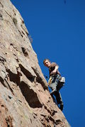Rock Climbing Photo: Josh on High Anxiety Nov 2008