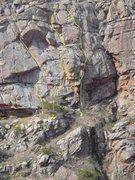 Rock Climbing Photo: Right Zoo Wall