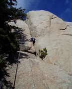 Rock Climbing Photo: There are a couple of spots where you can step out...