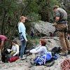 Members of the ROWCC at Malibu Creek.