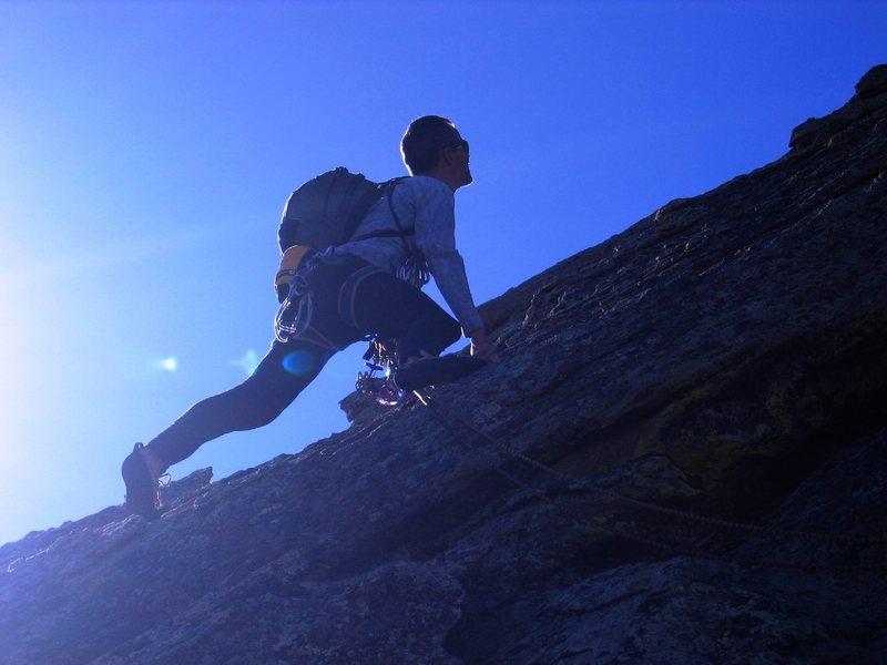 Rock Climbing Photo: 3rd Flatiron, Boulder, Colorado