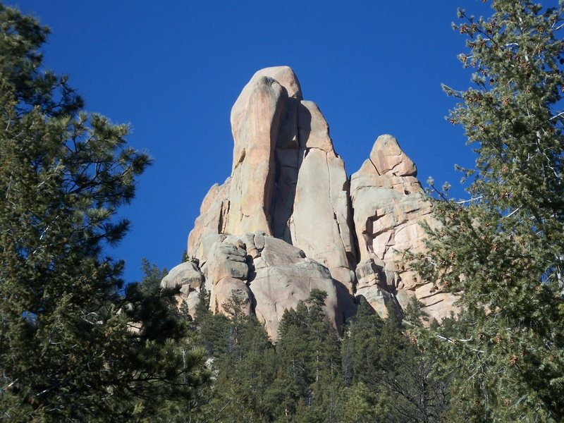 Rock Climbing Photo: Cathedral Spires...