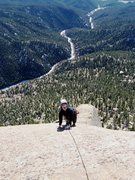Rock Climbing Photo: Jesse topping out on Wunsch's...
