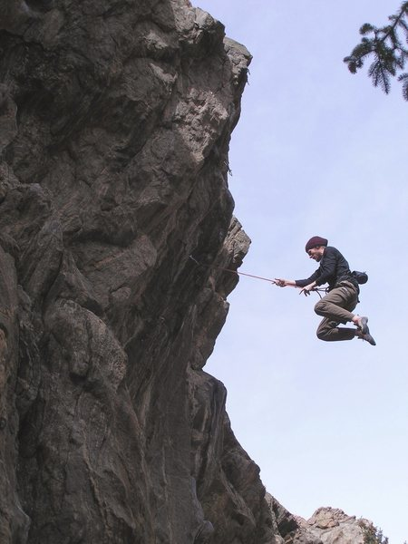 Rock Climbing Photo: Whip.