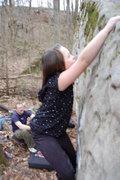 Rock Climbing Photo: Kianna
