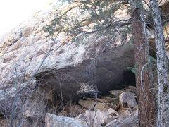 Rock Climbing Photo: The Bat Cave at The Palace, CO.