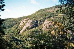Rock Climbing Photo: Chapel Pond Slab