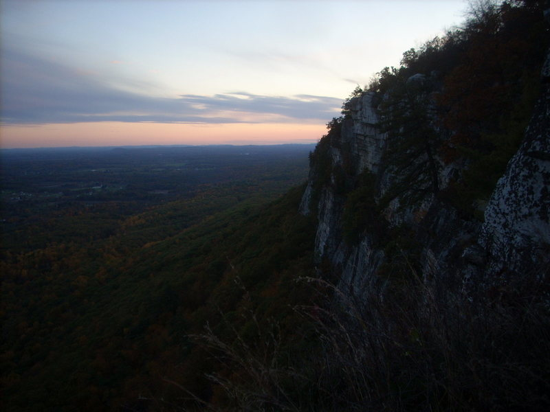 Rock Climbing Photo: Another Gunks Sunset!