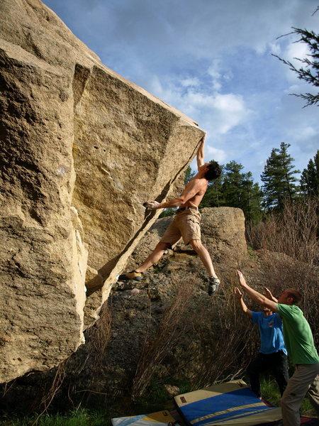 """Rock Climbing Photo: """"The Mangler"""" - Marcelo Montalva."""