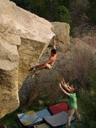 "Rock Climbing Photo: ""The Mangler"" - Marcelo Montalva 2."