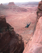 Rock Climbing Photo: Here's a vertical pano with a wider view.  Solstic...