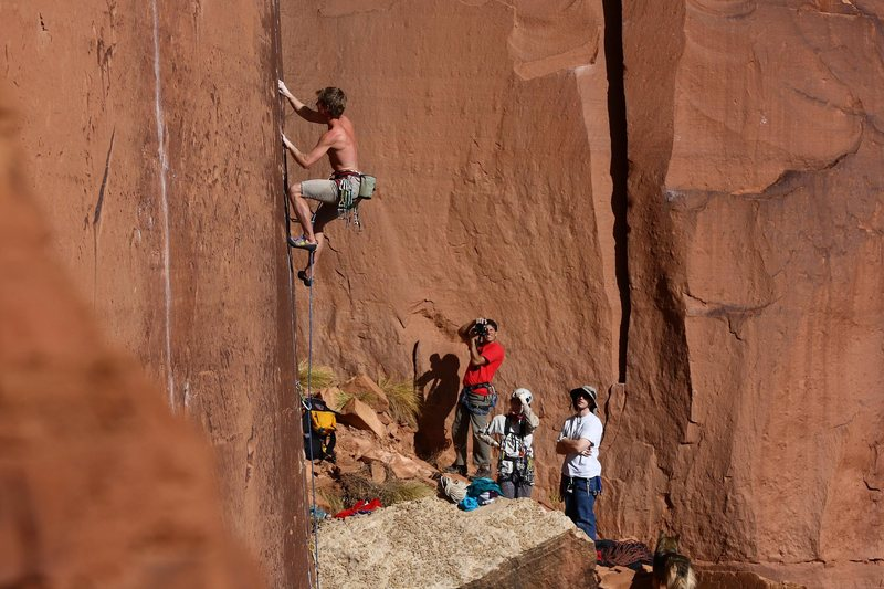 Rock Climbing Photo: E-Crack Durginstein fan club