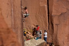Rock Climbing Photo: E-Crack Durginstein fan club