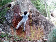 Rock Climbing Photo: Bouldering around the Matron, on the Matron Boulde...