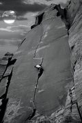 Rock Climbing Photo: Zach on Way Rambo!