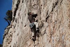 Rock Climbing Photo: Stick it.