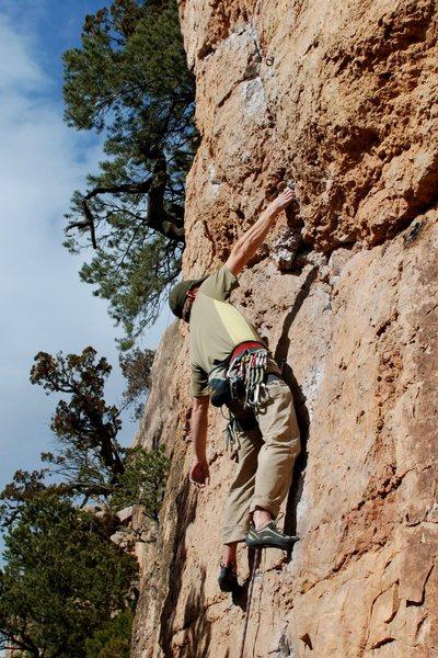 Rock Climbing Photo: Laid back.