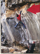 Rock Climbing Photo: Jay Knower climbing Bottom Feeder (5.13), picture ...