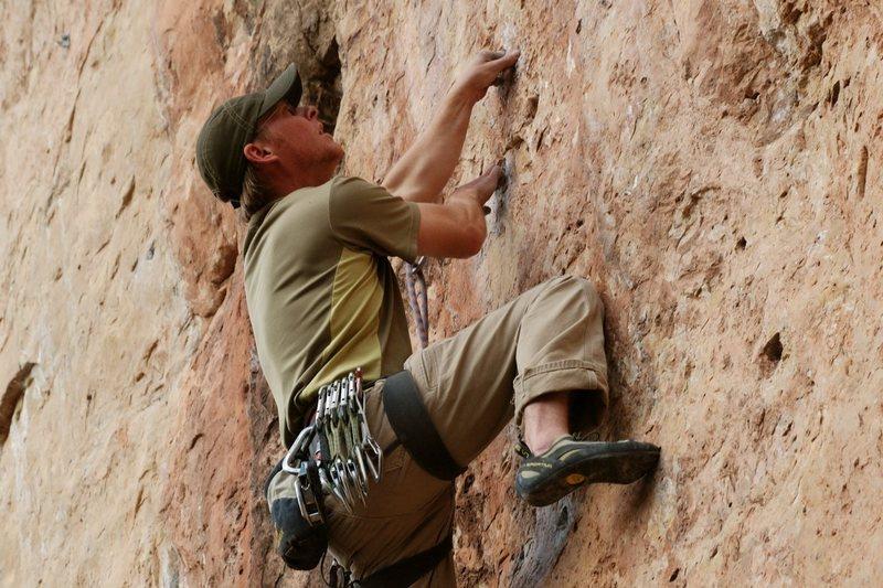 Rock Climbing Photo: Pockets!