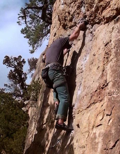 Hold me closer tiny climber.