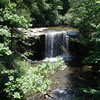One of many beautiful waterfalls found throughout West Virginia's New River Gorge region.