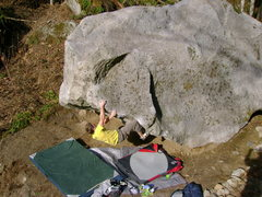 Rock Climbing Photo: Nate Woods on The Pred