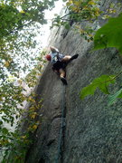 Rock Climbing Photo: Ico, back for more fun and verbal abuse.