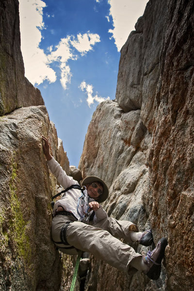 Rock Climbing Photo: Greg Smith on Smoke Blanchard's Fou.