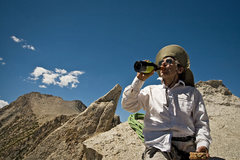 "Rock Climbing Photo: ""Red we save for the summit."" Smoke Blan..."