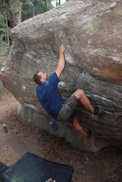 Rock Climbing Photo: Mono-a-Ricciardo.