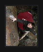 Rock Climbing Photo: Zac Rudy send attempt on DonkyKong Dyno, F.A. Zac ...
